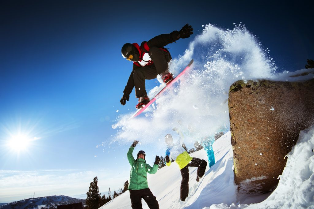 Snowboarden soll Spaß und sicher sein