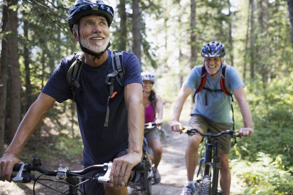 Radfahrer, Mountainbike, Radtour